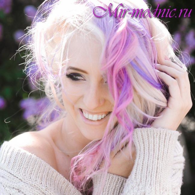 Модная покраска волос 2017 на длинные волосы фото