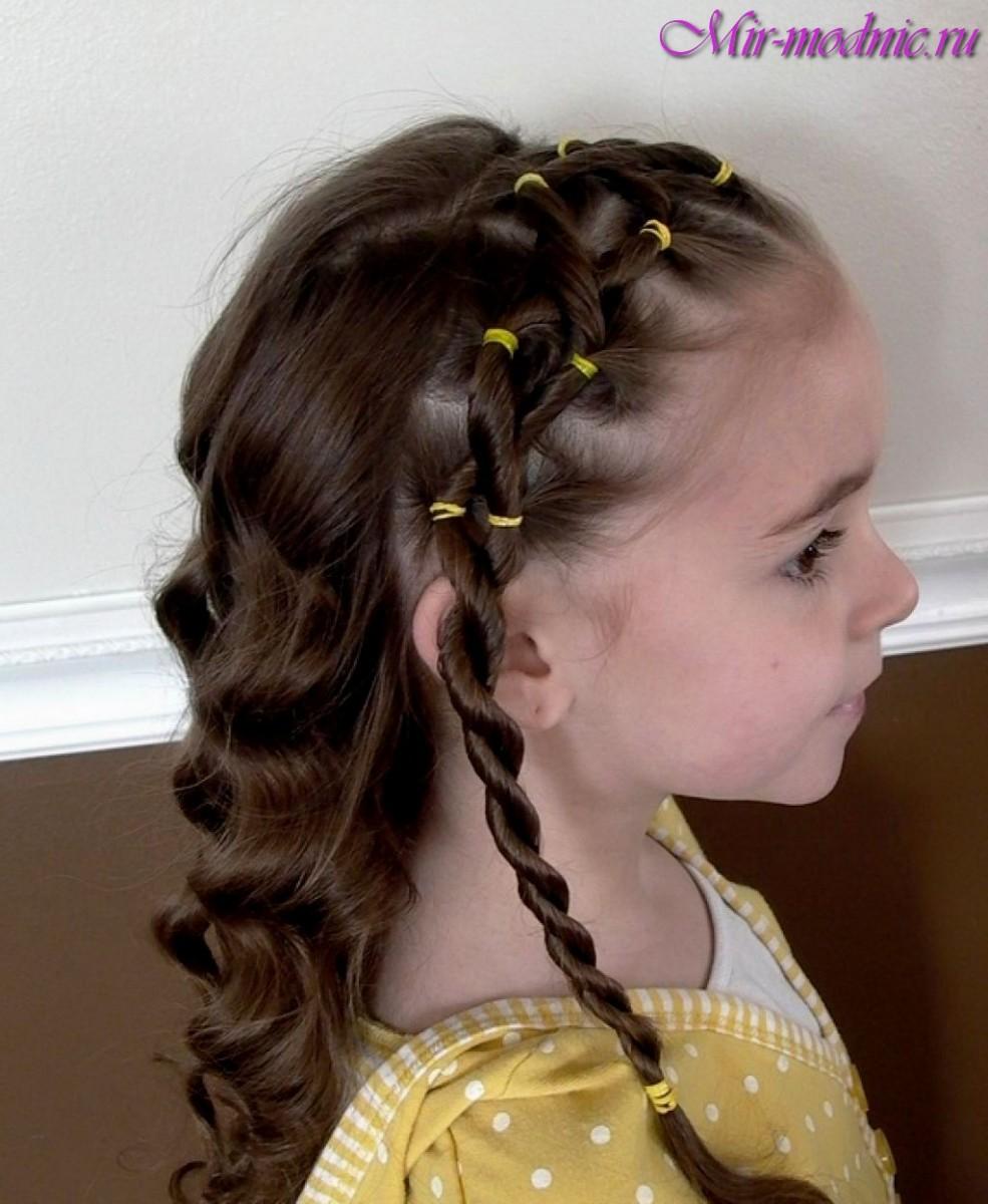 Причёски на бал для девочек своими руками