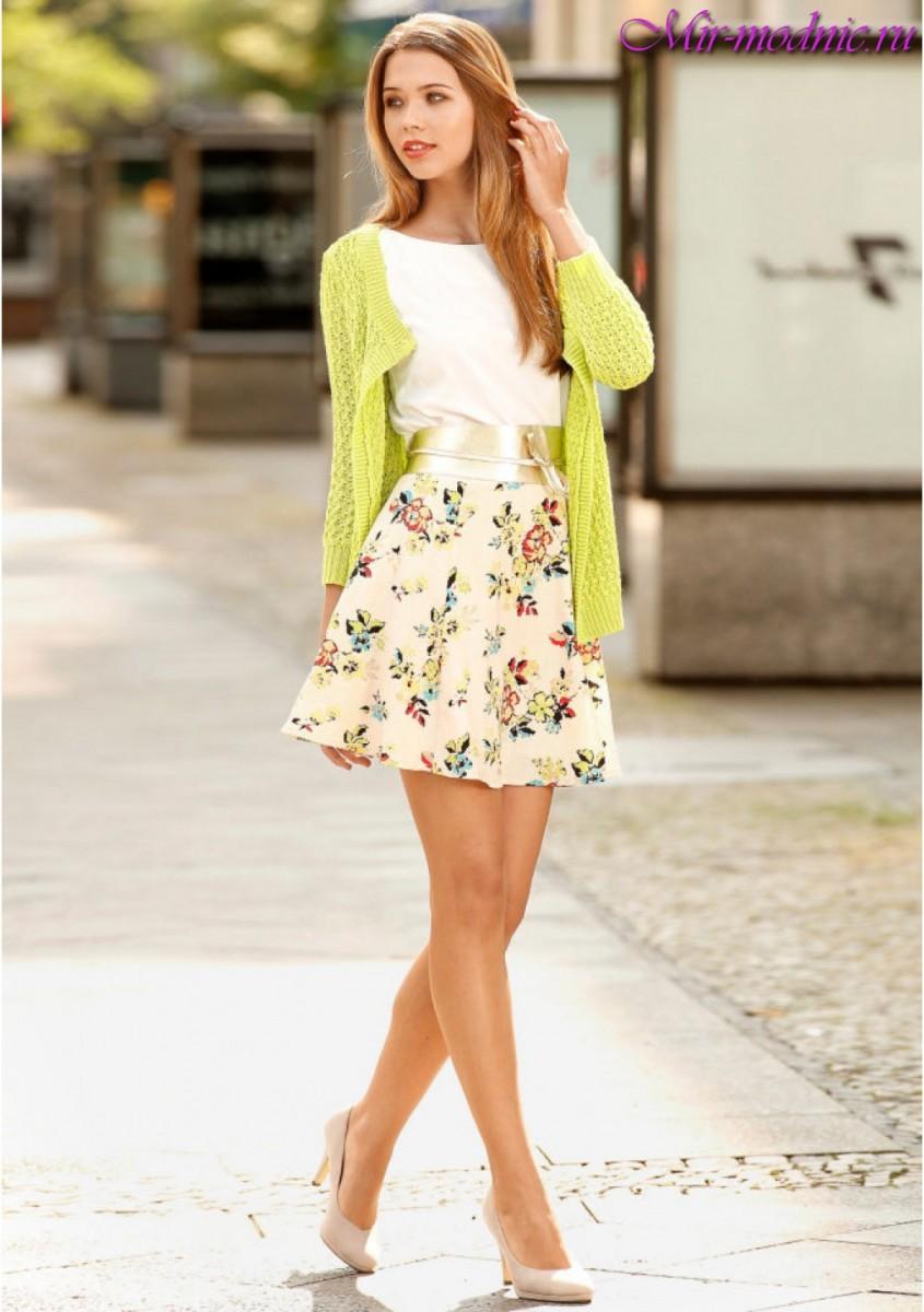 Модный лук весна лето 2017