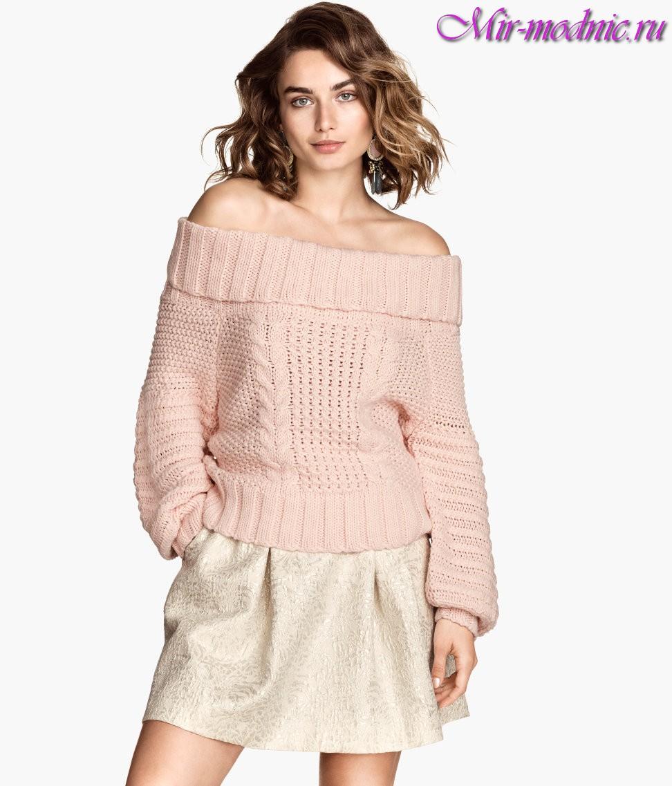 Модные свитера 2017 женские фото
