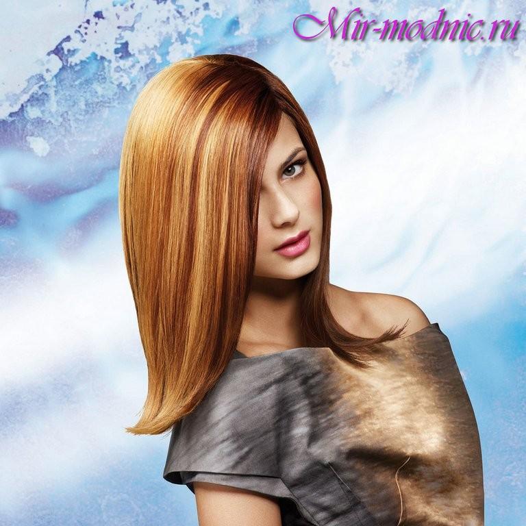 модные стрижки для девушек на средние волосы