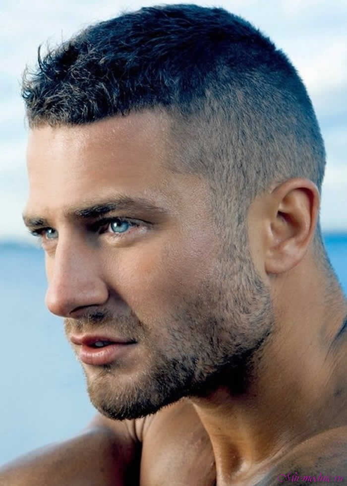 Причёски с короткими волосами мужские фото