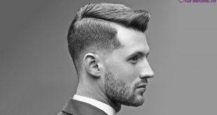 Мужские стрижки с выбритыми висками фото
