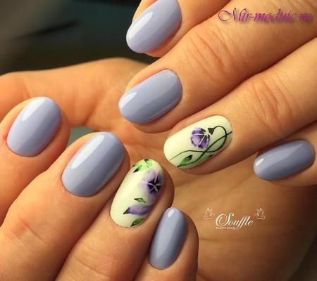 Цвет ногтей на лето 6