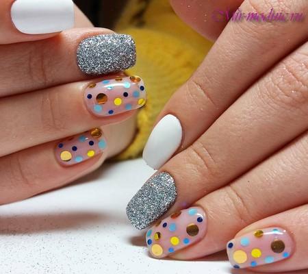 Дизайн нарощенных ногтей 2017 фото новинки