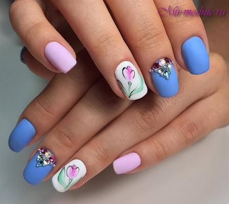 Дизайн ногтей фото на лето