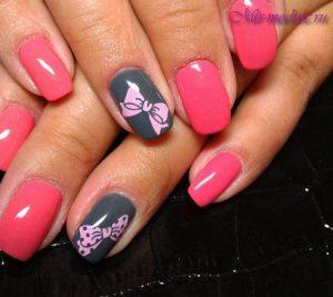 Фото шеллака на ногтях с рисунками