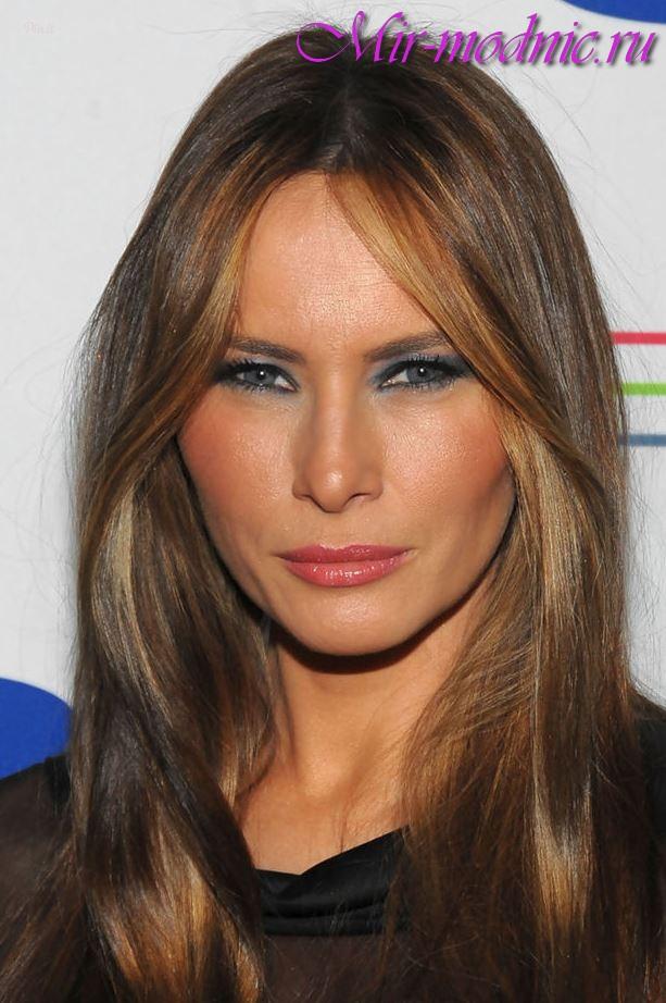 Волосы как у Мелании Трамп