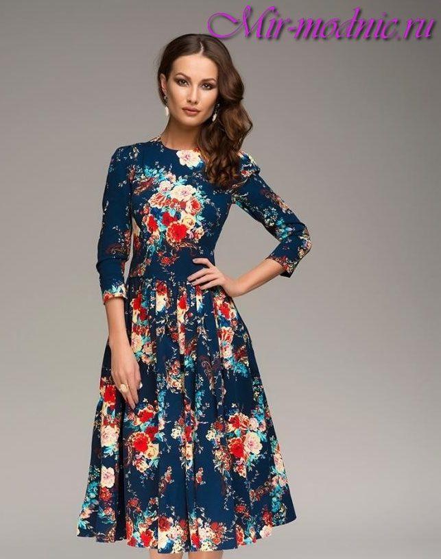 Платья цветочек