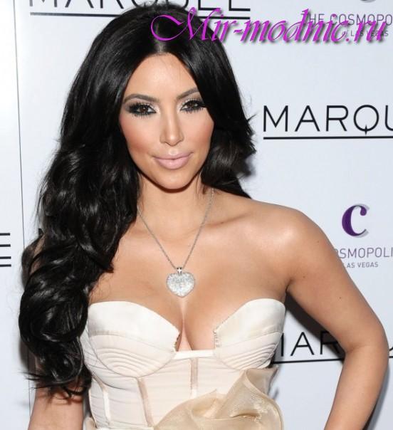 Волосы как у Ким Кардашьян