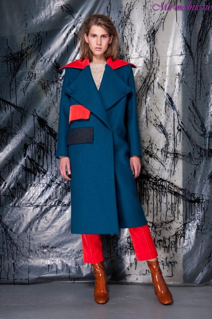 Модное пальто этого года