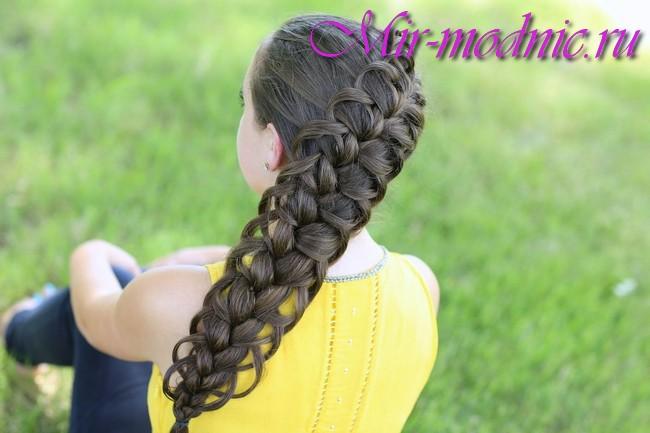 Прически весна лето 2017 на длинные волосы