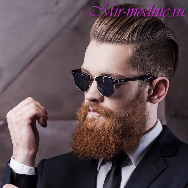 Модная <strong>модная</strong> борода 2018