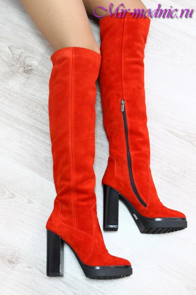 Зимняя женская обувь 2017 2018