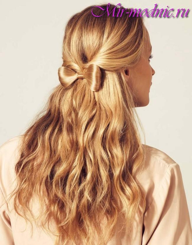 Укладка волос 2018