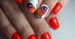 Яркий дизайн ногтей гель лаком фото новинки 2017