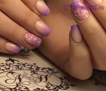 Шеллак модный дизайн ногтей 2018 идеи новинки фото