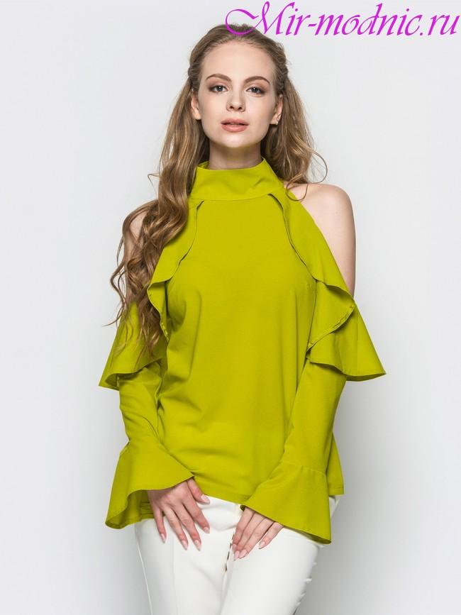 Modnyie tendentsii v bluzkah 2018(5)