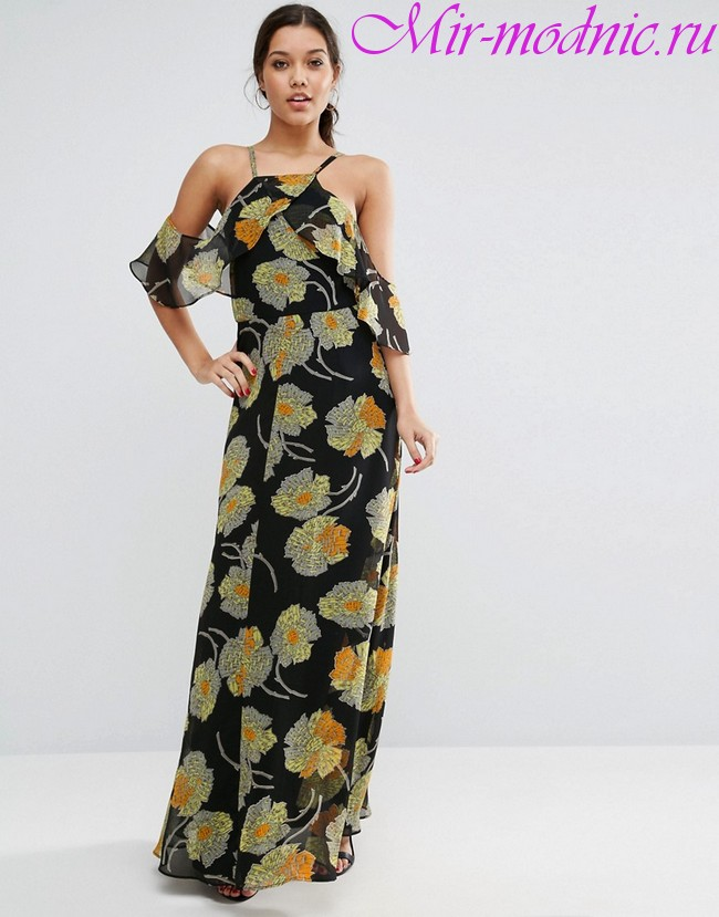 Платья весна лето 2018