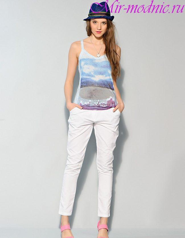 Белые брюки женские с чем носить фото 2017
