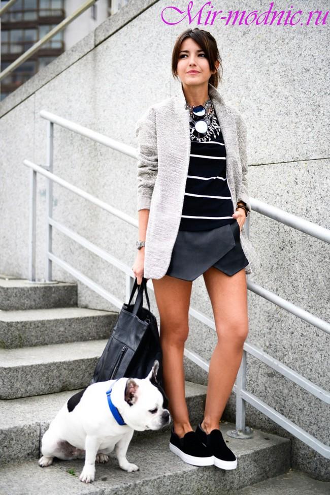 Слипоны женские фото с чем носить
