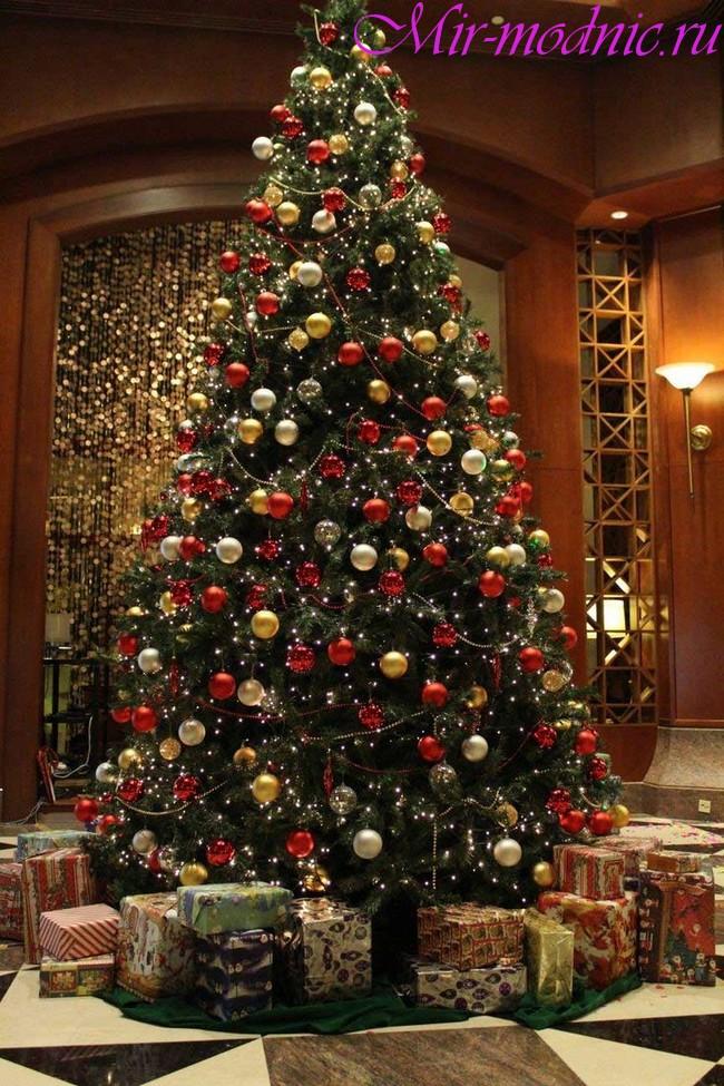 Украшение новогодней елки 2018 фото