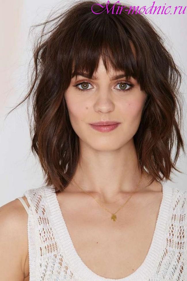 Модное окрашивание волос 2019 на средние волосы фото