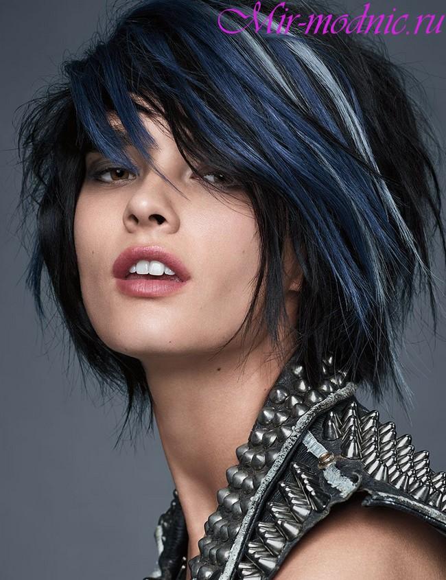 Модное окрашивание волос 2018 на короткие волосы фото