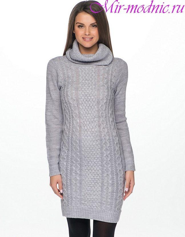 Вязаные платья крючком 2018