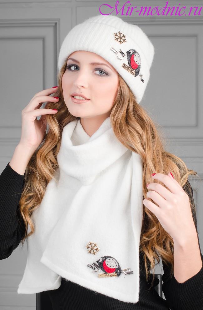 Шапки и шарфы осень зима 2017 2018