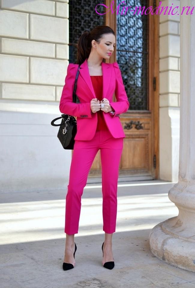 Женские костюмы 2018 фото новинки