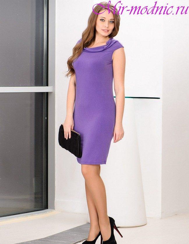 Офисное платье 2019