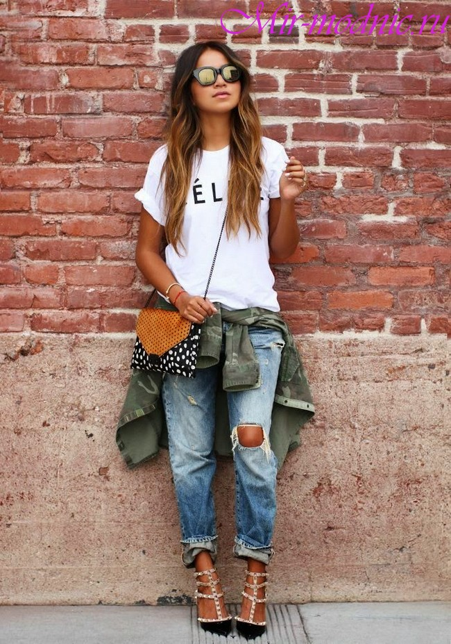 Модные джинсы 2018 женские