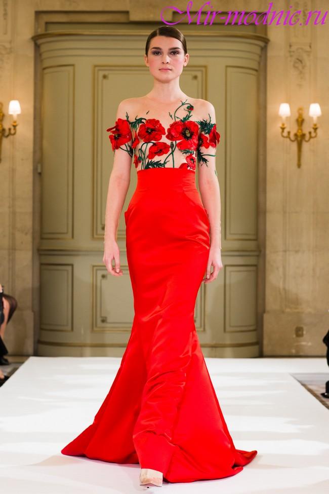 Вечерние платья 2018 фото новинки