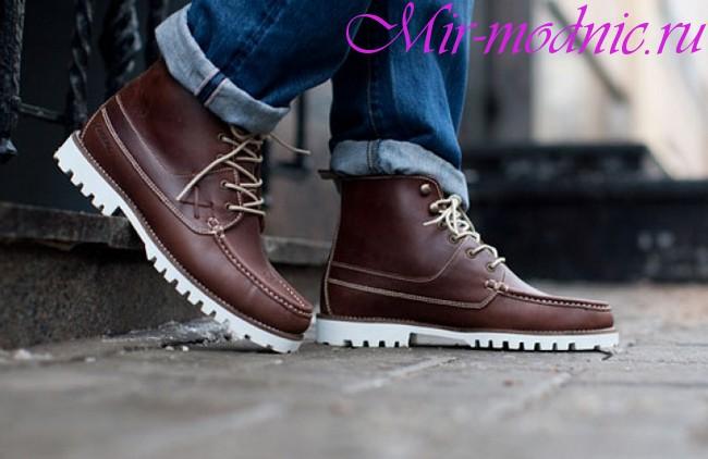 Модная обувь 2018 мужская