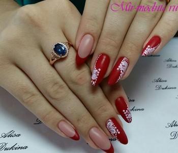 Бежевые ногти нарощенные ногти