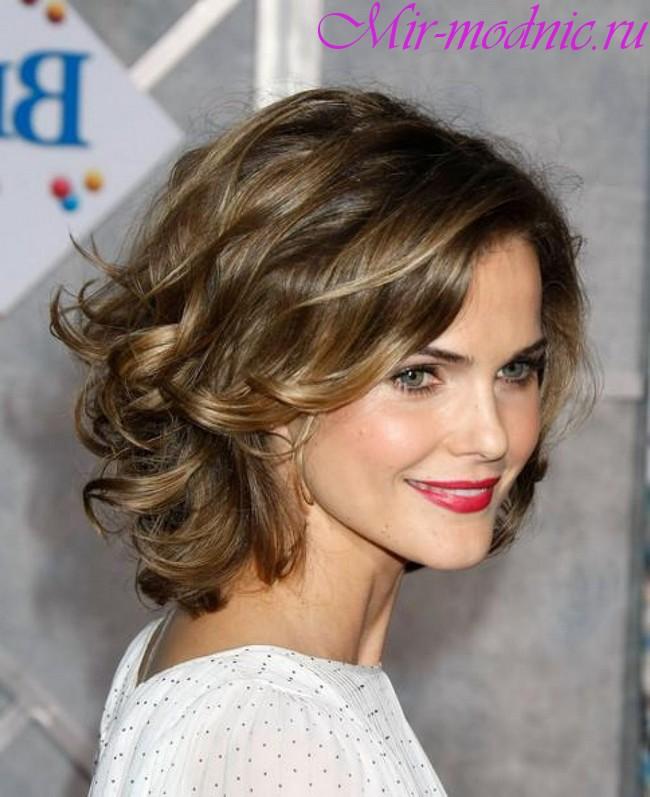 Модные стрижки 2018 на средние волосы фото для женщин за 40