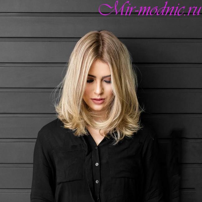 Модные стрижки 2018 женские на средние волосы