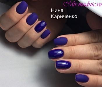 Арочное наращивание ногтей гелем