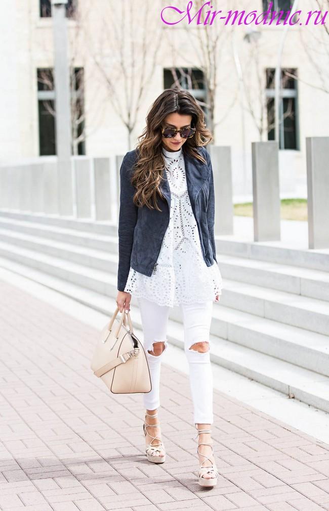Модные джинсы 2018 новинки тренды фото женские