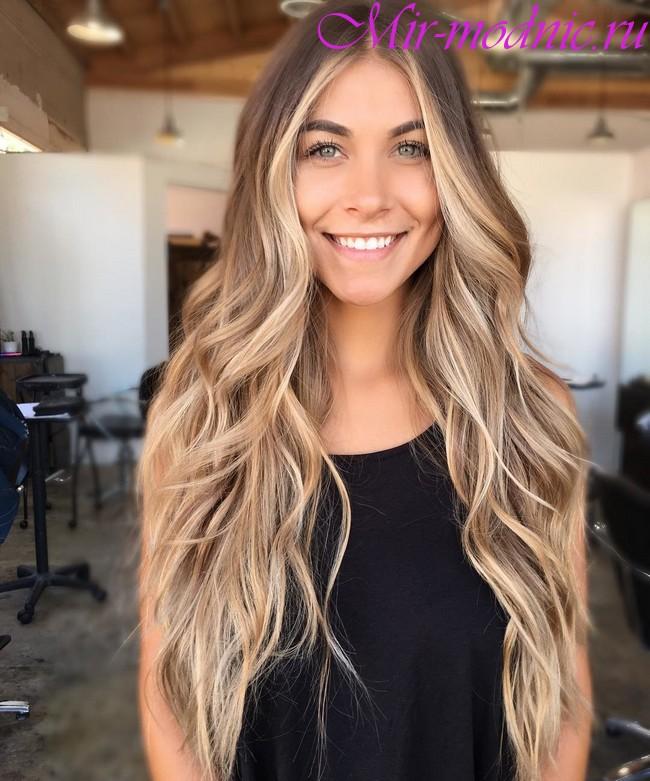 Тренд 2018 волосы