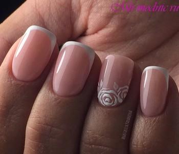 Дизайн ногтей 2018 фото новинки красивый на короткие ногти френч