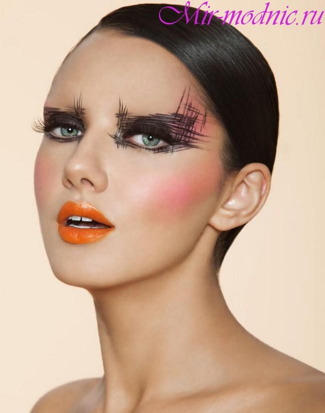 Тренды 2018 года в макияже