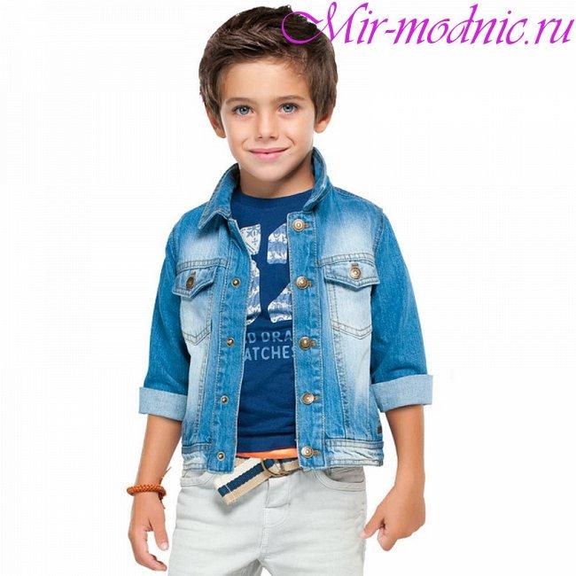 Детская мода 2018 для мальчиков