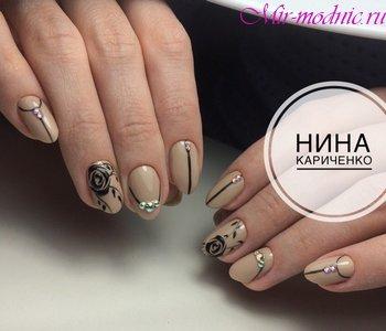Маникюр на короткие ногти фото дизайн 2018 шеллак веснаМаникюр на короткие ногти фото дизайн 2018 шеллак весна