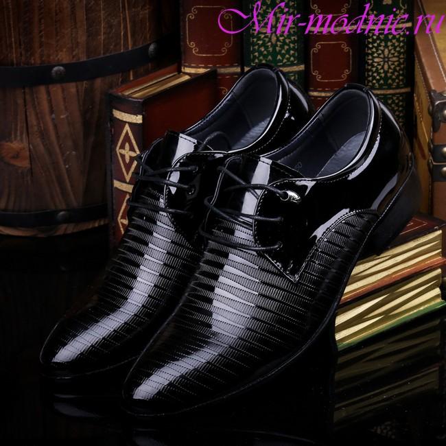 Модные мужские туфли весна 2018