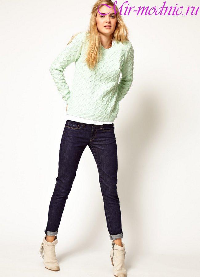Фото джинсы женские модные