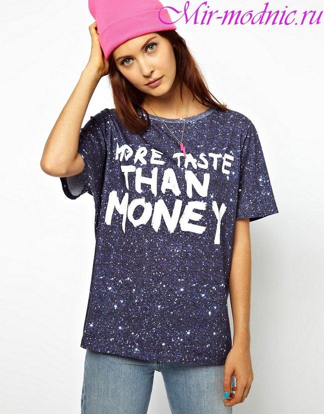 Модные футболки весна лето 2018