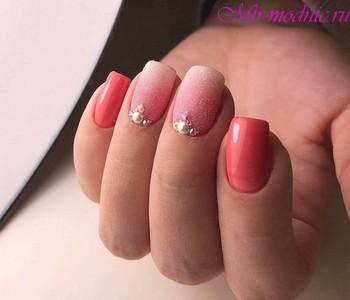 Маникюр 2018 модные тенденции фото на короткие ногти