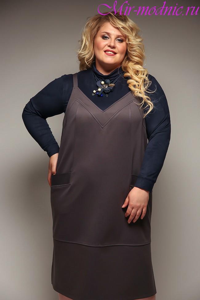 Мода для полных женщин за 40 в 2018 году весна лето